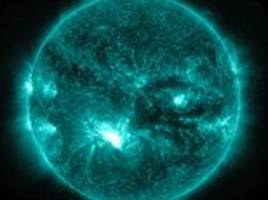 What is happening to the sun? Monster storms on solar surface result in sunspot as big as EARTH