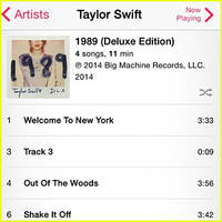 Taylor Swift's Track 3 Preview Off '1989' Features 9 Seconds of White Noise, Shoots to #1 in Canada