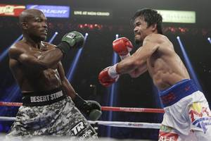 Manny Pacquiao Next Fight: Floyd Mayweather Would Have to Drop to 140, Trainer Says